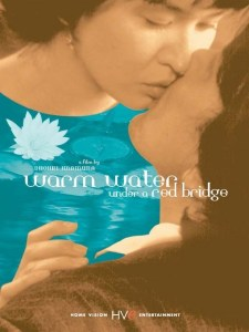 """Poster for the movie """"Warm Water Under a Red Bridge"""""""