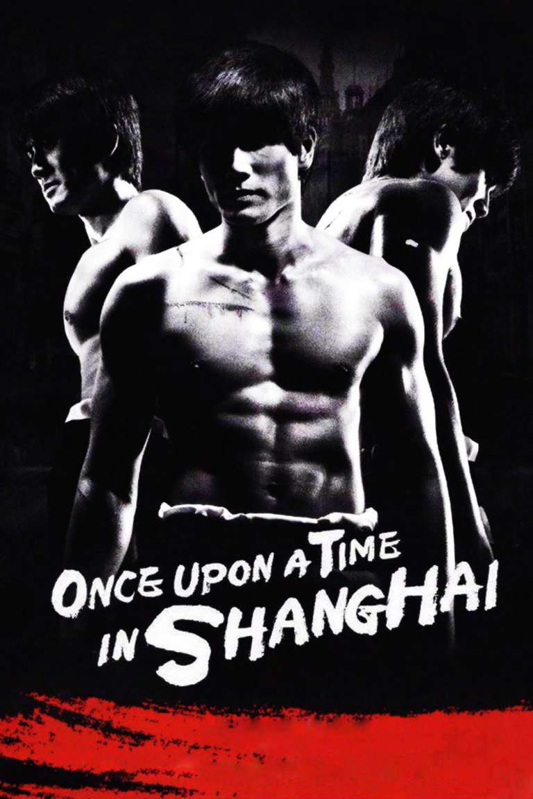 """Poster for the movie """"Once Upon a Time in Shanghai"""""""