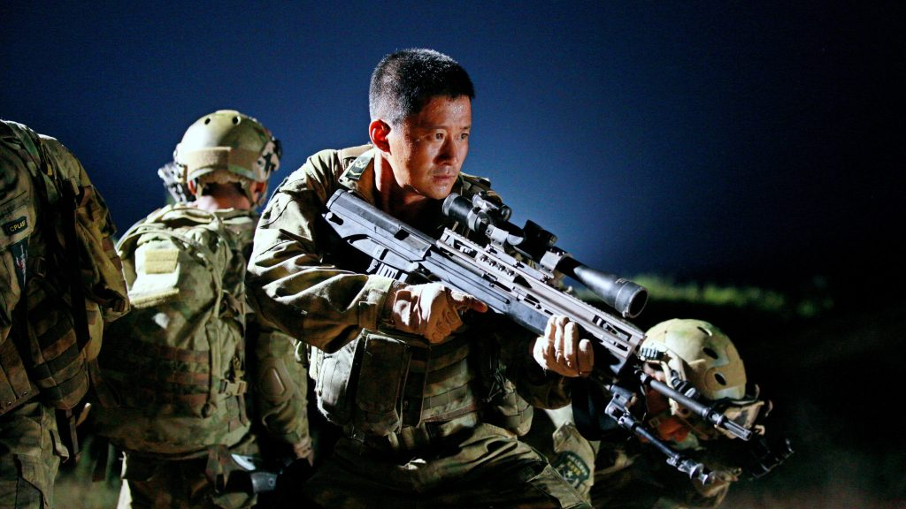 """Image from the movie """"Wolf Warrior"""""""
