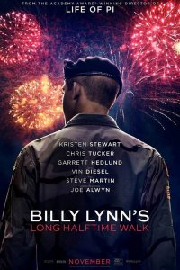 """Poster for the movie """"Billy Lynn's Long Halftime Walk"""""""