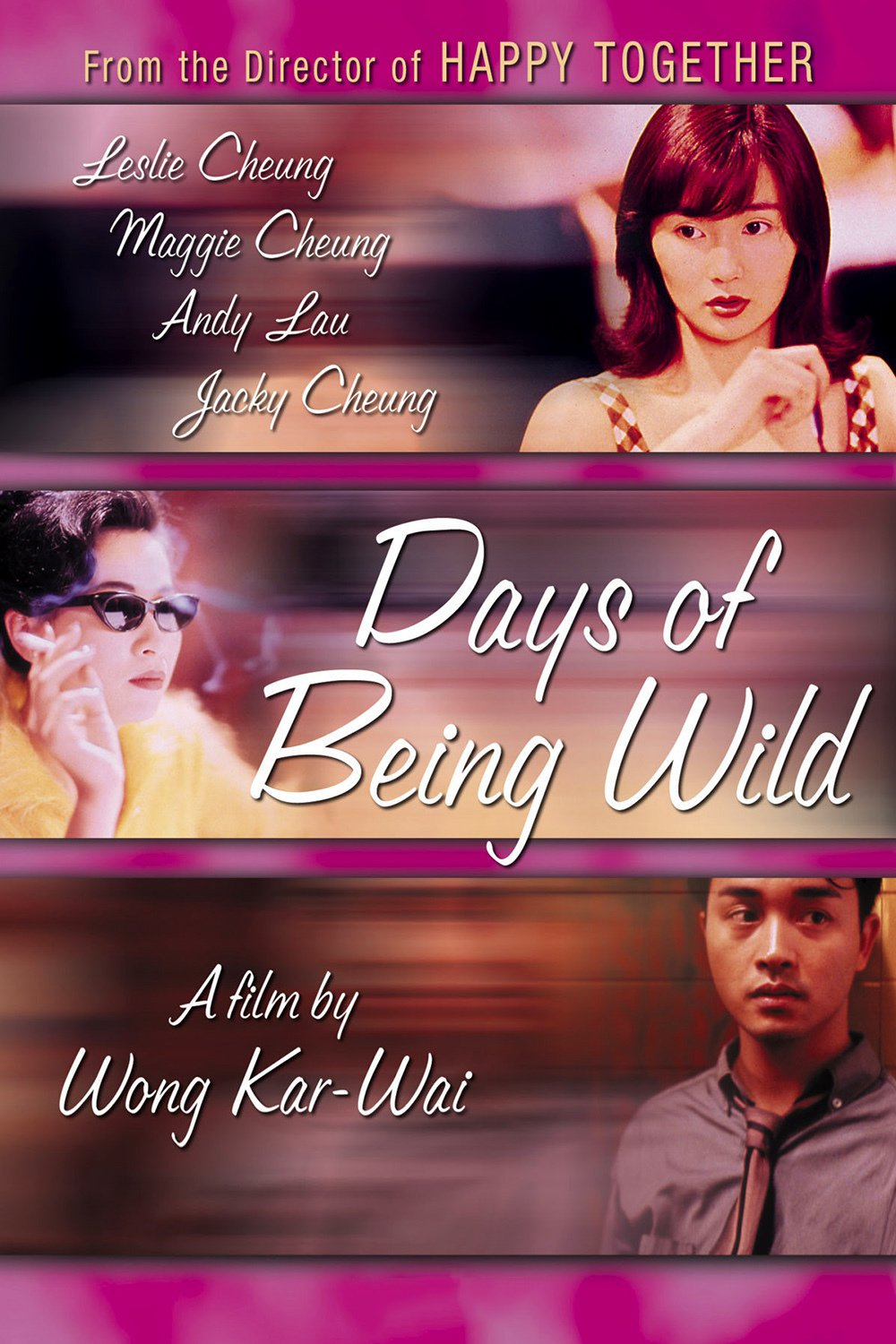 """Poster for the movie """"Days of Being Wild"""""""