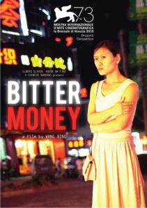 """Poster for the movie """"Bitter Money"""""""