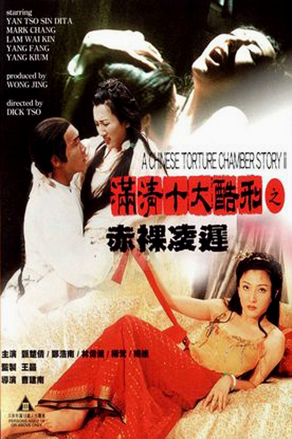 """Poster for the movie """"A Chinese Torture Chamber Story II"""""""
