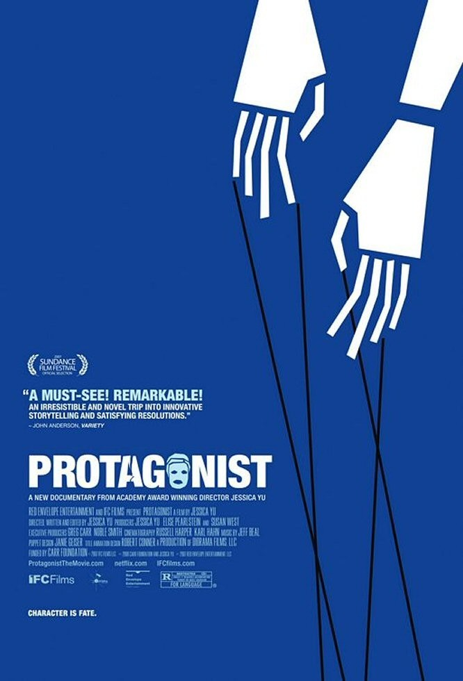 """Poster for the movie """"Protagonist"""""""