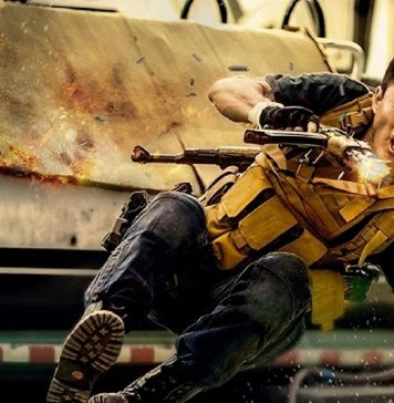 """Image from the movie """"Wolf Warrior 2"""""""