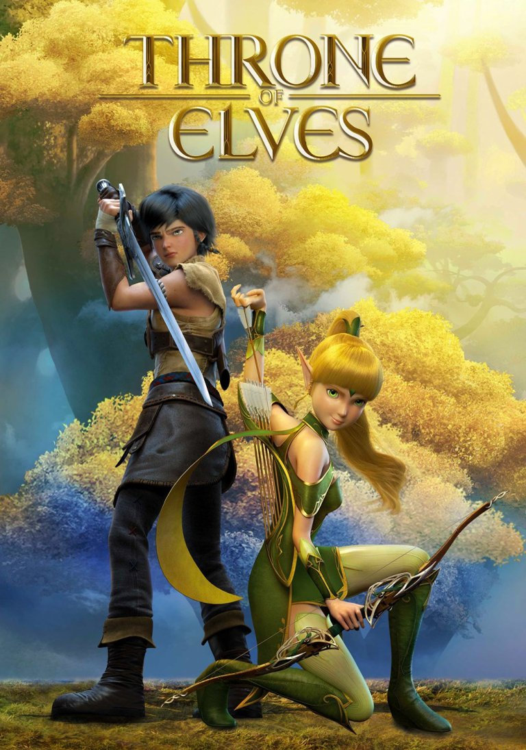 """Poster for the movie """"Throne of Elves"""""""