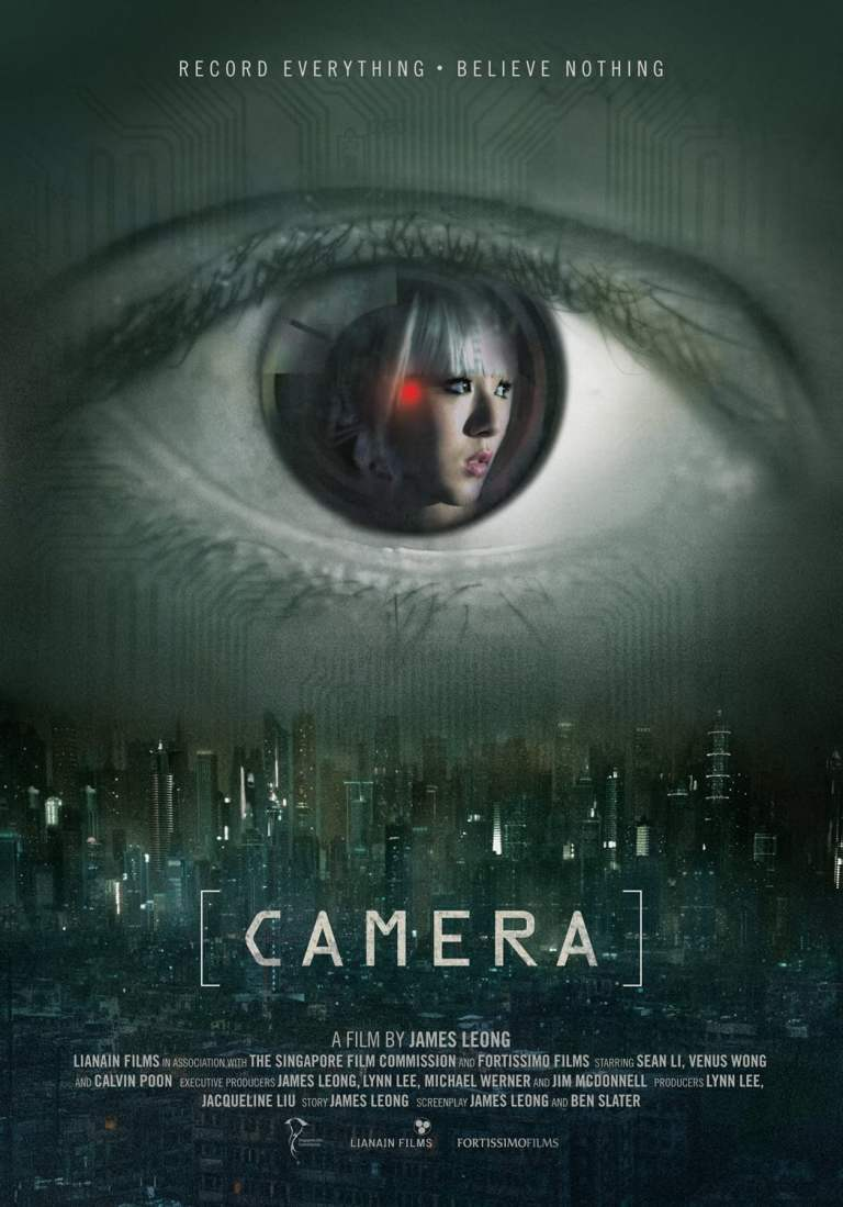 """Poster for the movie """"Camera"""""""
