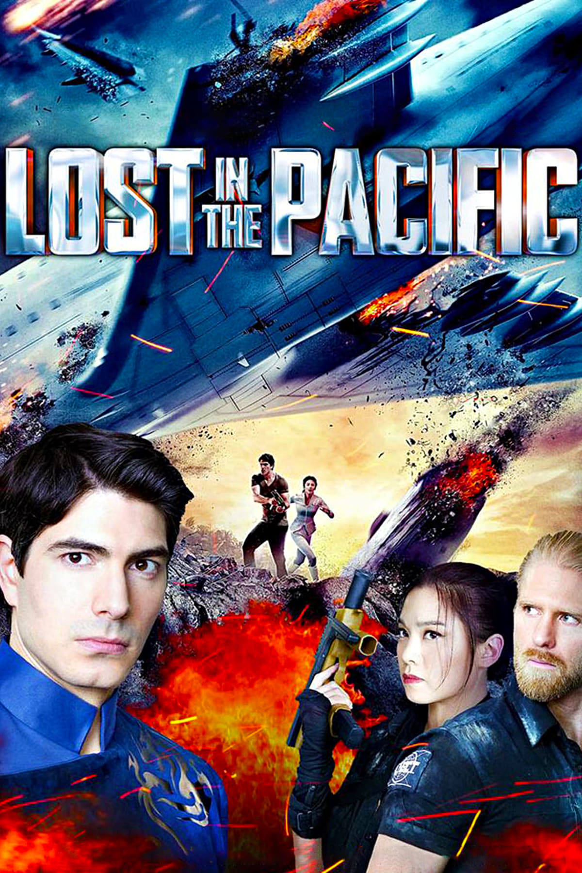 """Poster for the movie """"Lost in the Pacific"""""""