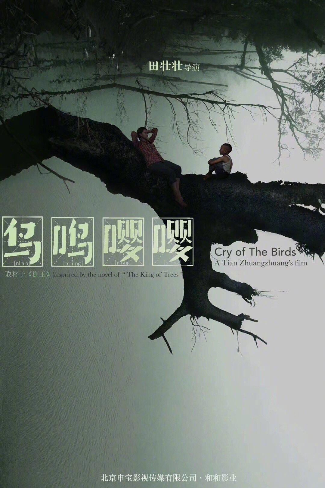 """Poster for the movie """"Cry of the Birds"""""""