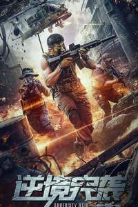 """Poster for the movie """"Adversity Raid"""""""