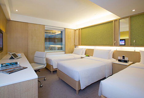 Triple Room Hotel L01 - Kowloon, Hong Kong, S.A.R. China