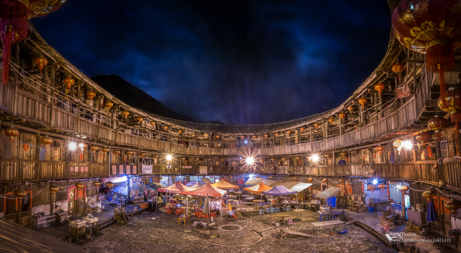 Fujian Tulou Round Houses In South China Unesco Heritage