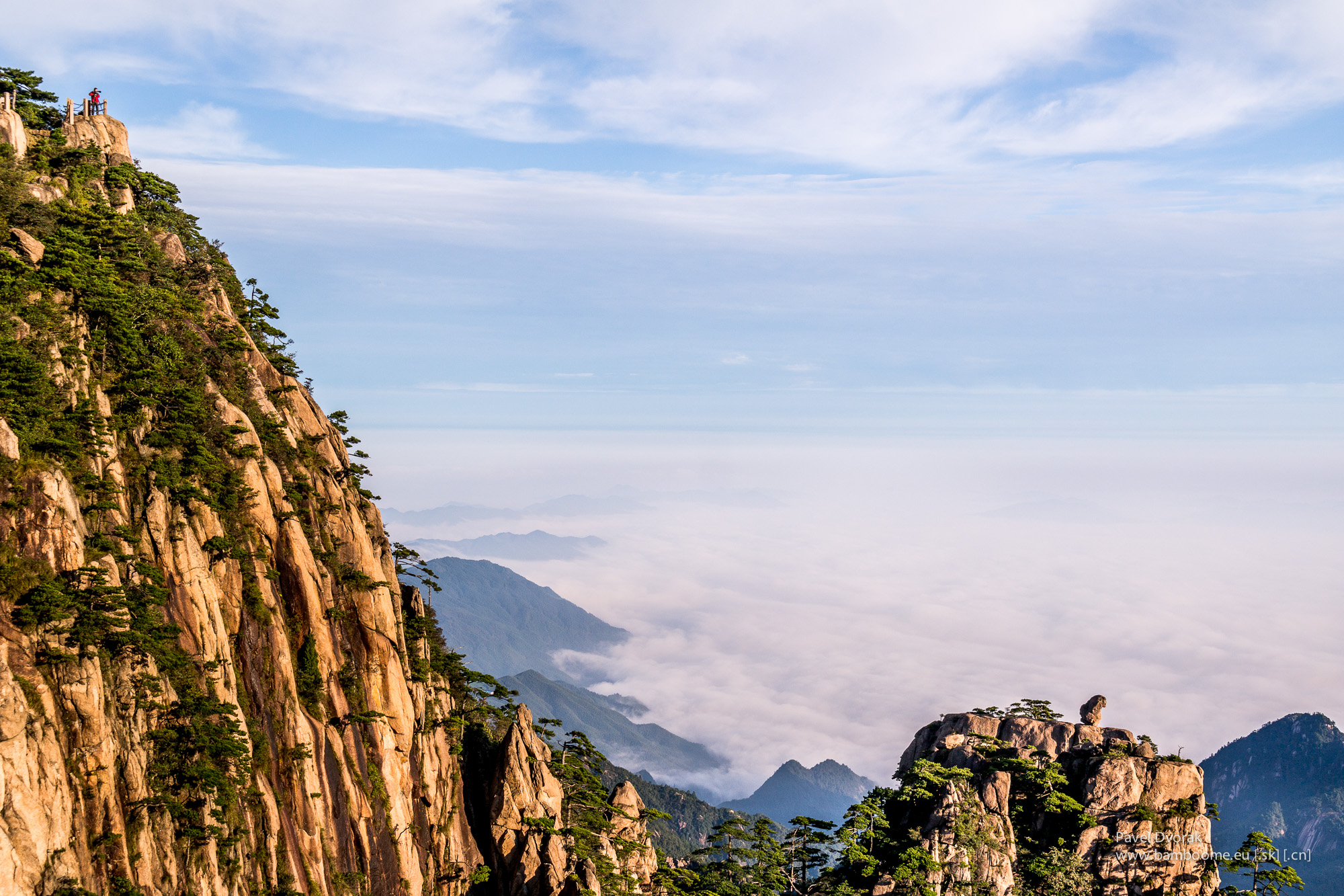 Mystic Yellow mountains Huangshan - I explore China