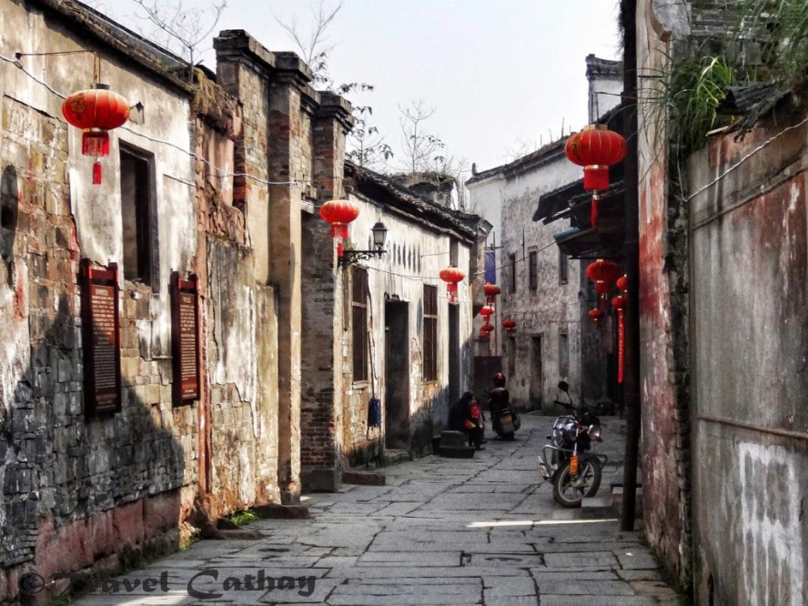 The peaceful streets of Qianyang, Hunan