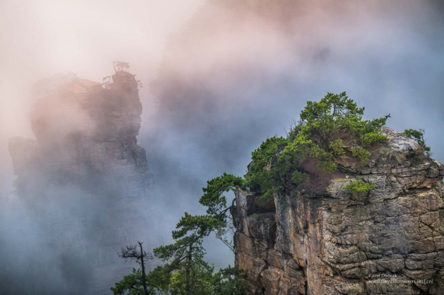 Zhangjiajie mountains