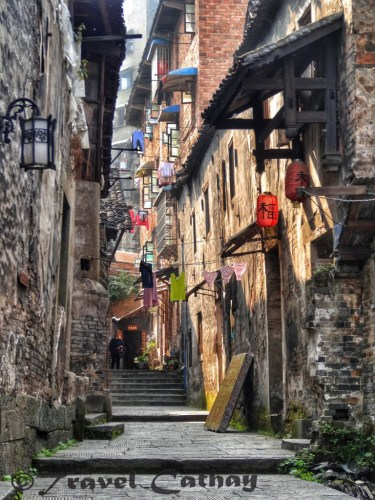 Off the beaten tracks in the ancient business town of Hongjiang, Hunan