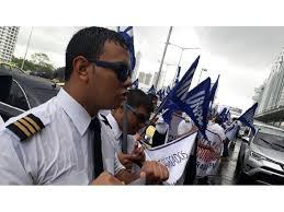 COPA公司飞行员为薪金问题抗议并要求政府介入