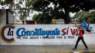 巴拿马政府:不承认委内瑞拉制宪会议选举结果