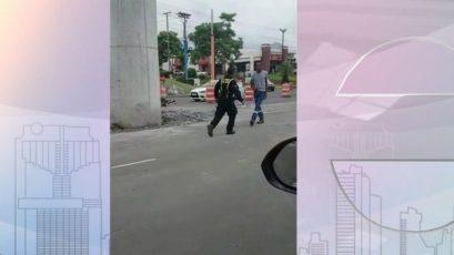 交通局上诉辱警事件(视频)