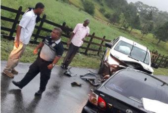 天雨路滑Colón省车祸九人受伤