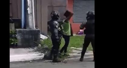 牛口省Colon岛两名骑警被指控过分使用武力(视频)