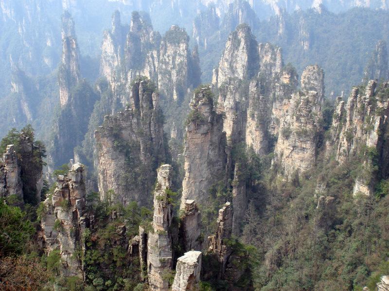 ChinaBlogcc  Blog Archive  Top 5 Karst Peak Forests in