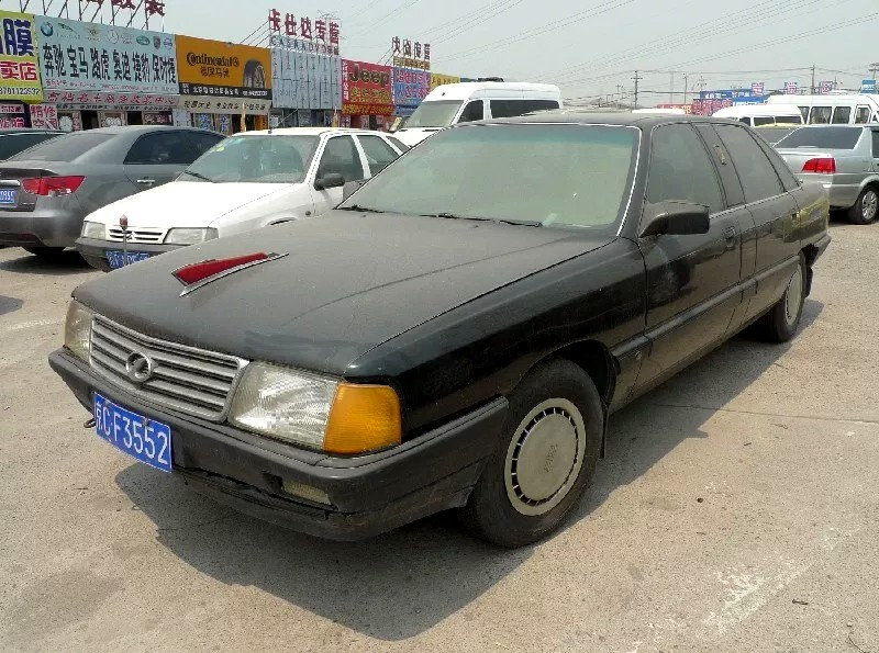 All The Hongqi Stretched Limousine Variants Based On The Audi 100/200