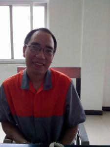 Zhao Changqing in Beijing Third Detention Center where he has been held since April, 2013. He has not been indicted.