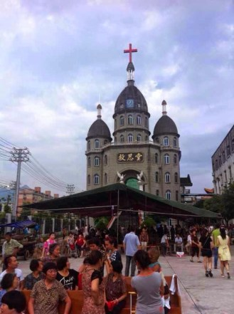 Believers and SWAT clashed when the cross of this church in Wenzhou was removed on July 21, 2014. Time magazine has a video report. http://time.com/3382827/china-christians-christianity-salvation-church-wenzhou-zhejiang/