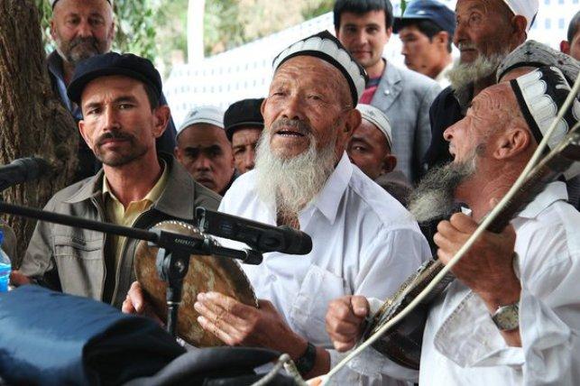 維吾爾樂手