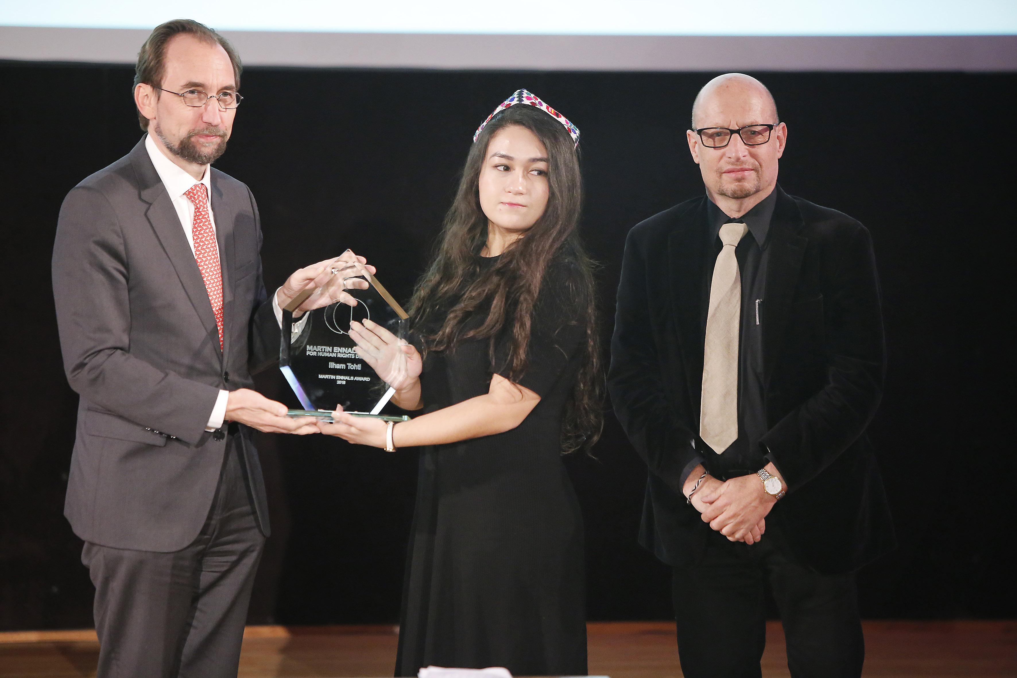 Cérémonie de la remise du prix Martin Ennals 2016 à Uni-Dufour.
