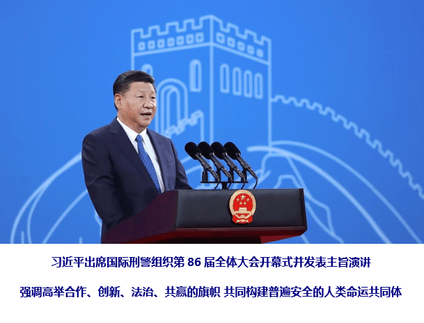 Signs of China 4, Xi Jinping, Interpol