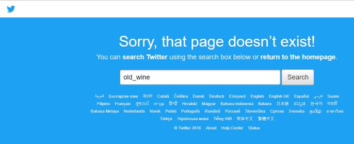 Twitter purge, old wine