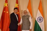 Xi and Modi Meet Following Border Dispute