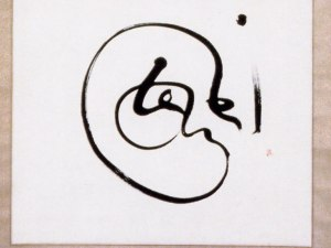 Pintando palabras. Caligrafía de Paloma Fadón
