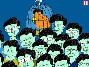 鳩鵪亞黃:国内部级以上流行的新发型