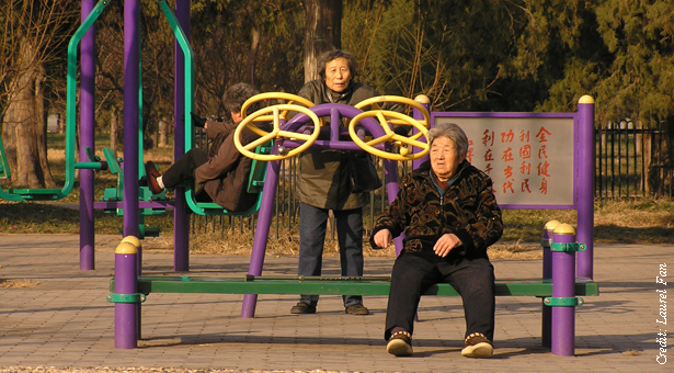 Urbanization, aging and a Chinese relaxation crisis