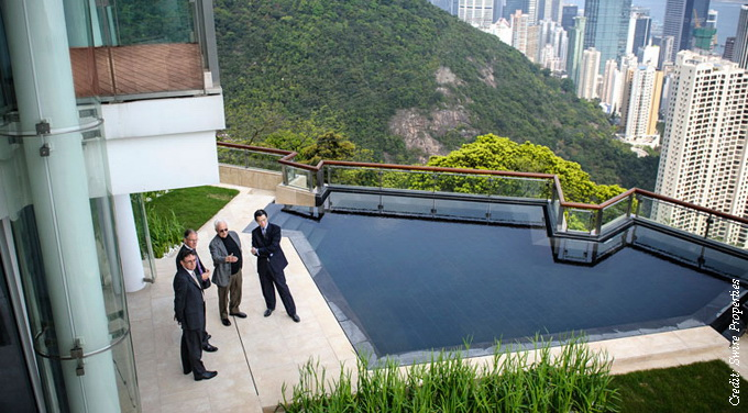 Opus Hong Kong view from luxury property
