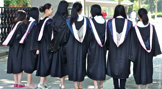 Chinese universities dominate emerging world rivals