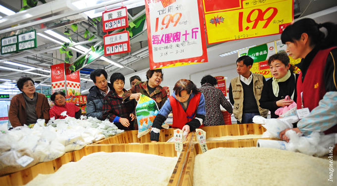 Beijing has rice to go around, but that might not be enough