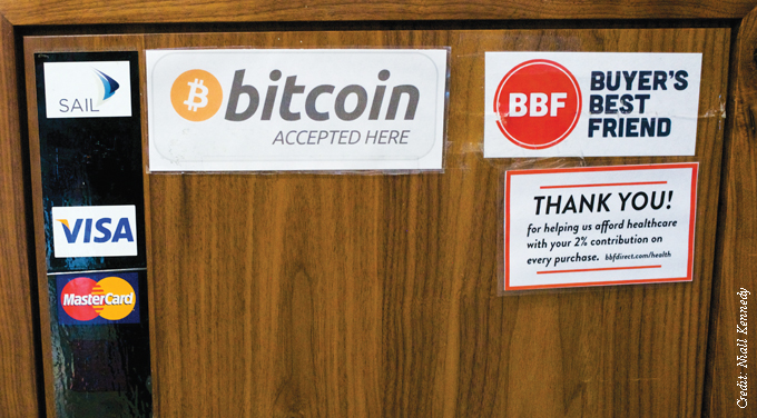 bitcoin sign with other payment providers