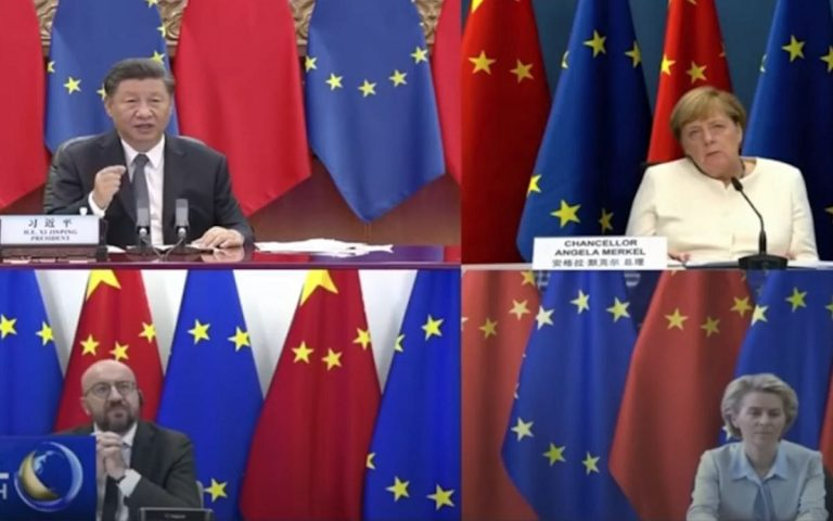 China looks to have missed the boat as SS EU sails back to the US