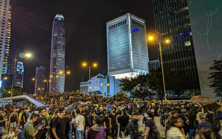 'Hong Kong 10' prison sentences spark international backlash