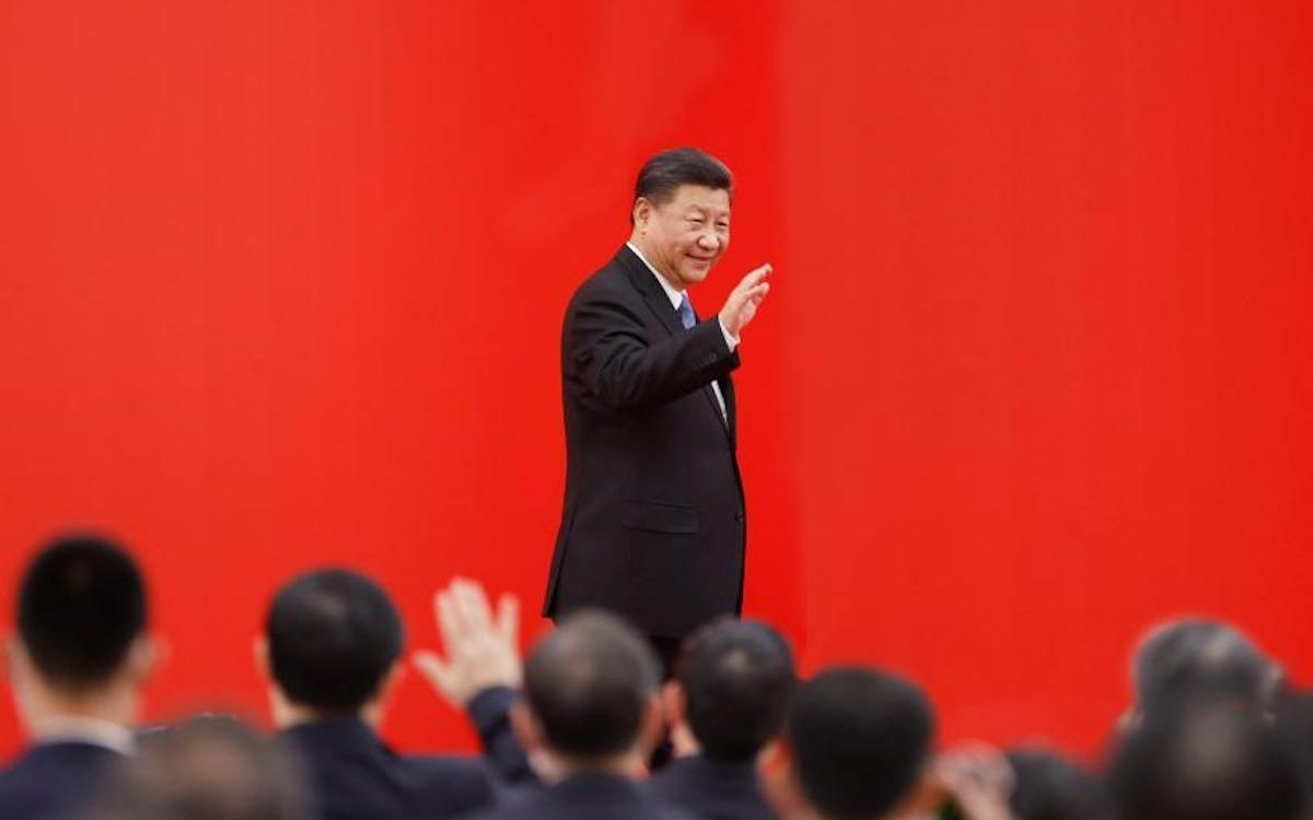 China's red curtain has descended on Hong Kong