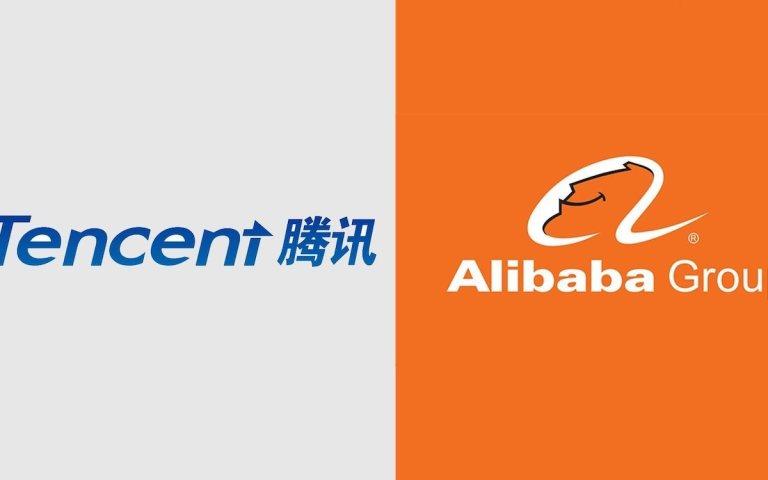 Tech titans Alibaba and Tencent facing US investment ban