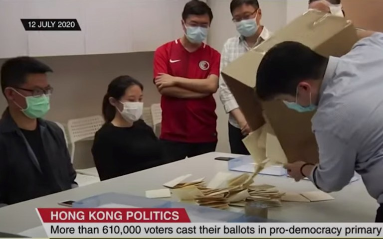Hong Kong arrests peel away the 'remaining veneer of democracy'