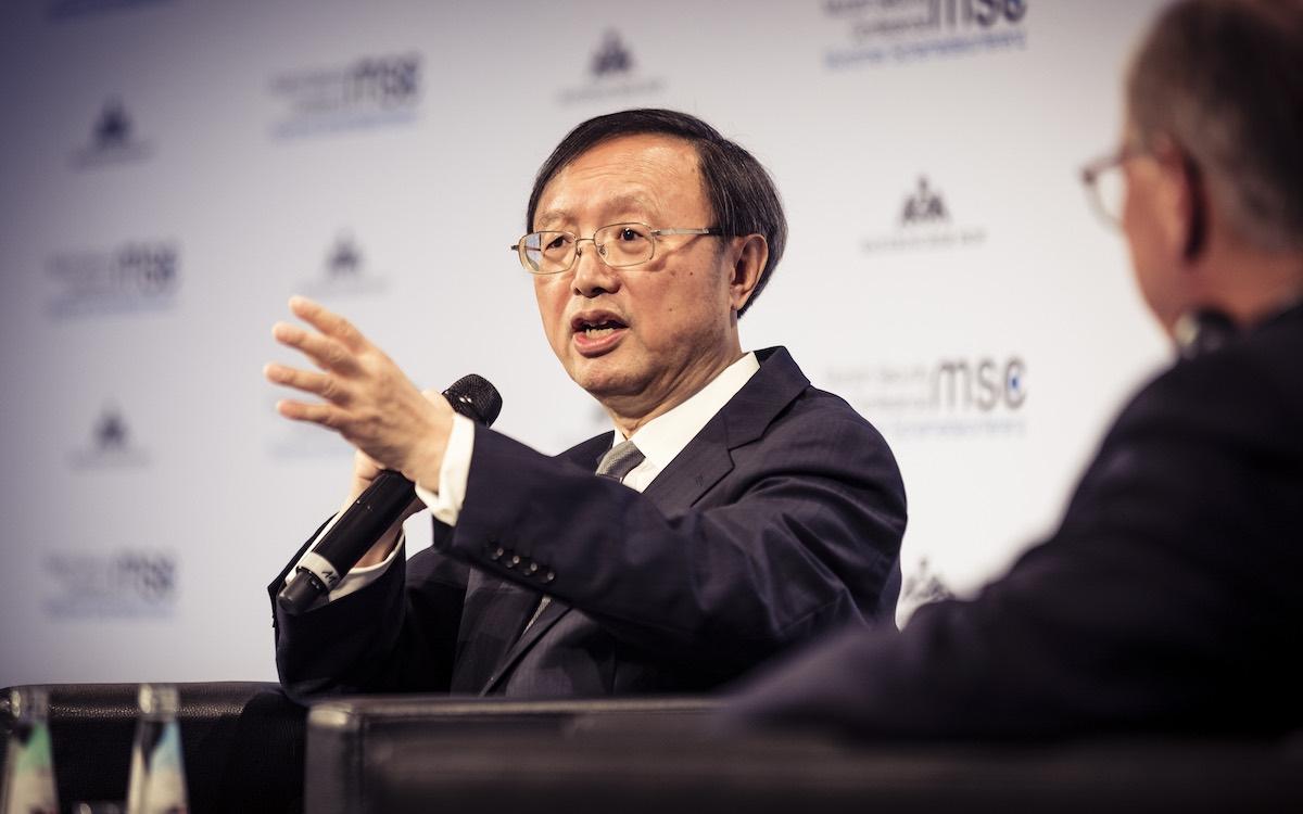 China's top diplomate Yang Jiechi.