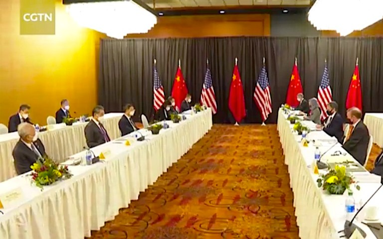 Chill wind blows into Alaska amid the barbwire diplomacy