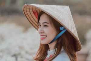 Sombrero estilo chino