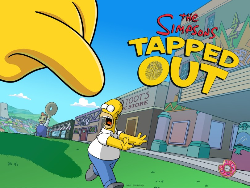 Play simpsons tapped out game